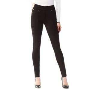 NYGARD Solid Stretch Pant Jeggings Black